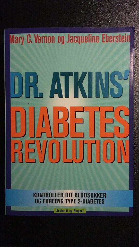 Dr. Atkins´ Diabetes Revolution,