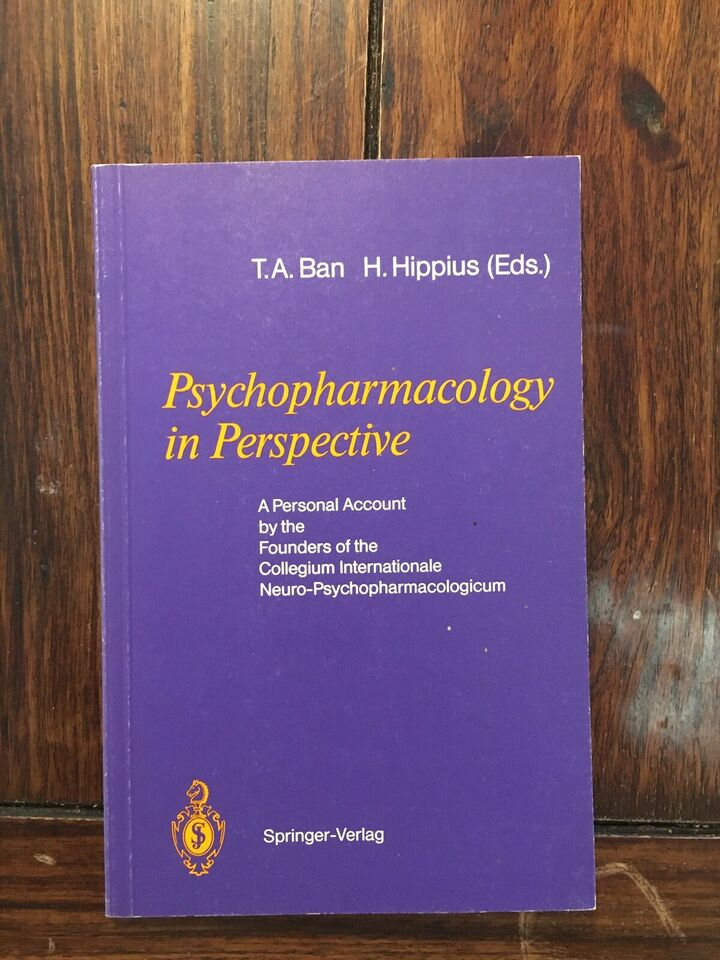 Psychopharmacology in perspective